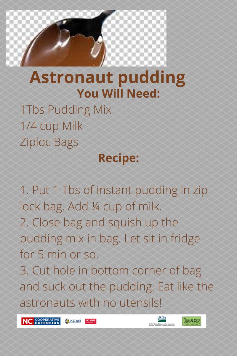 Astronaut Pudding