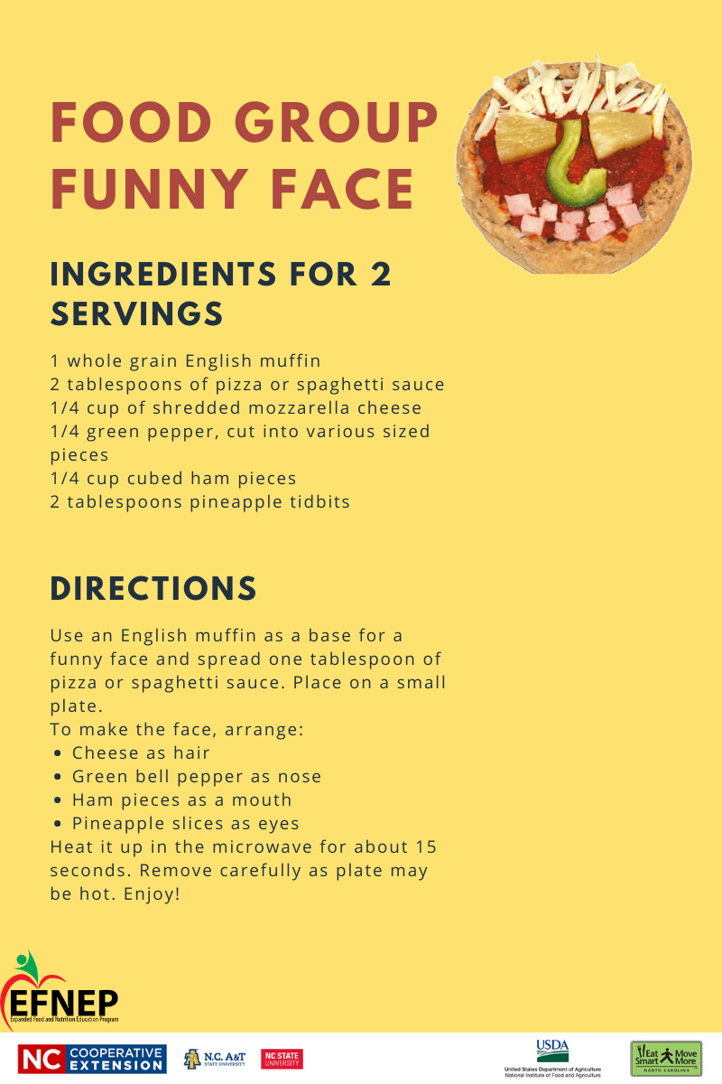 Food Group Funny Face recipe