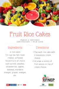Fruit Rice Cake