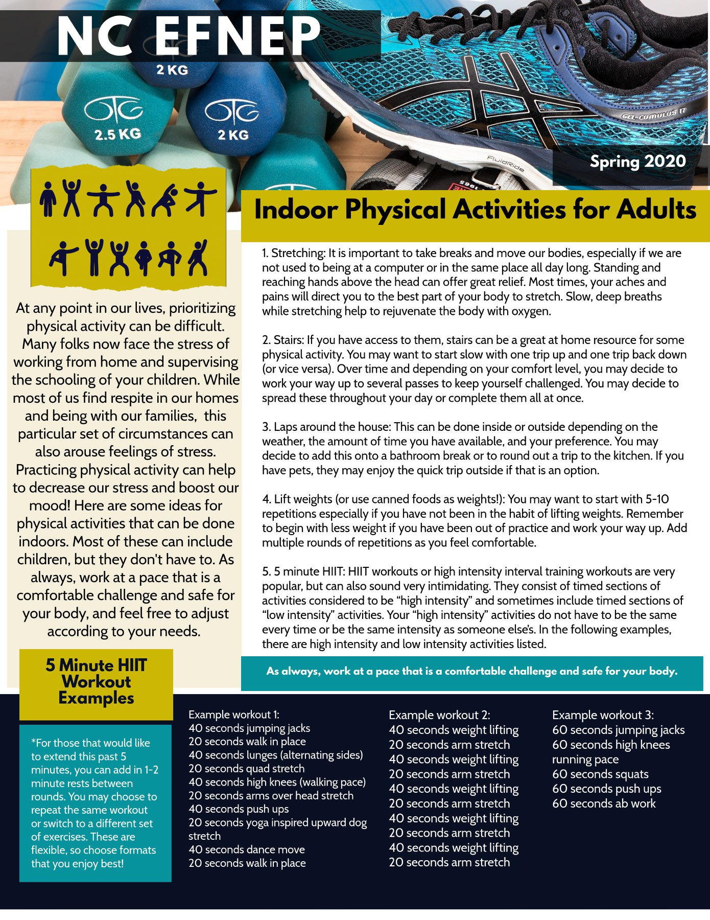 Indoor Physical Activities for Adults