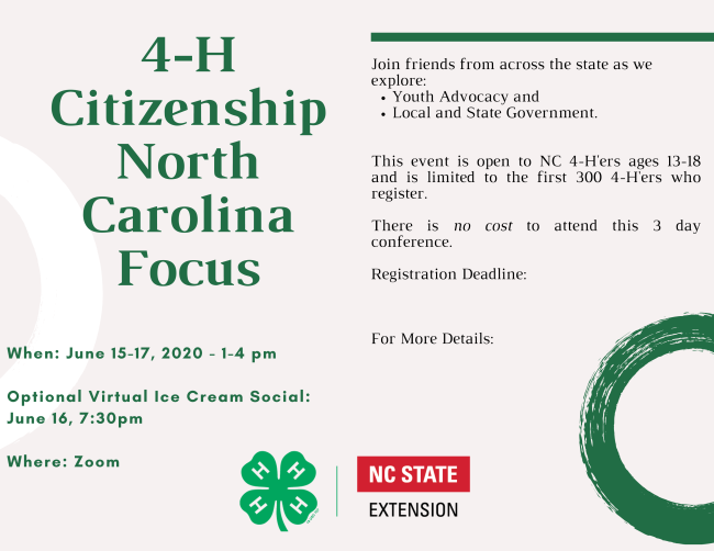 4-H Citizenship Focus Logo