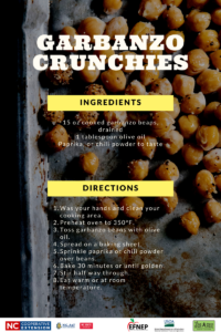 recipe for garbanzo crunchies