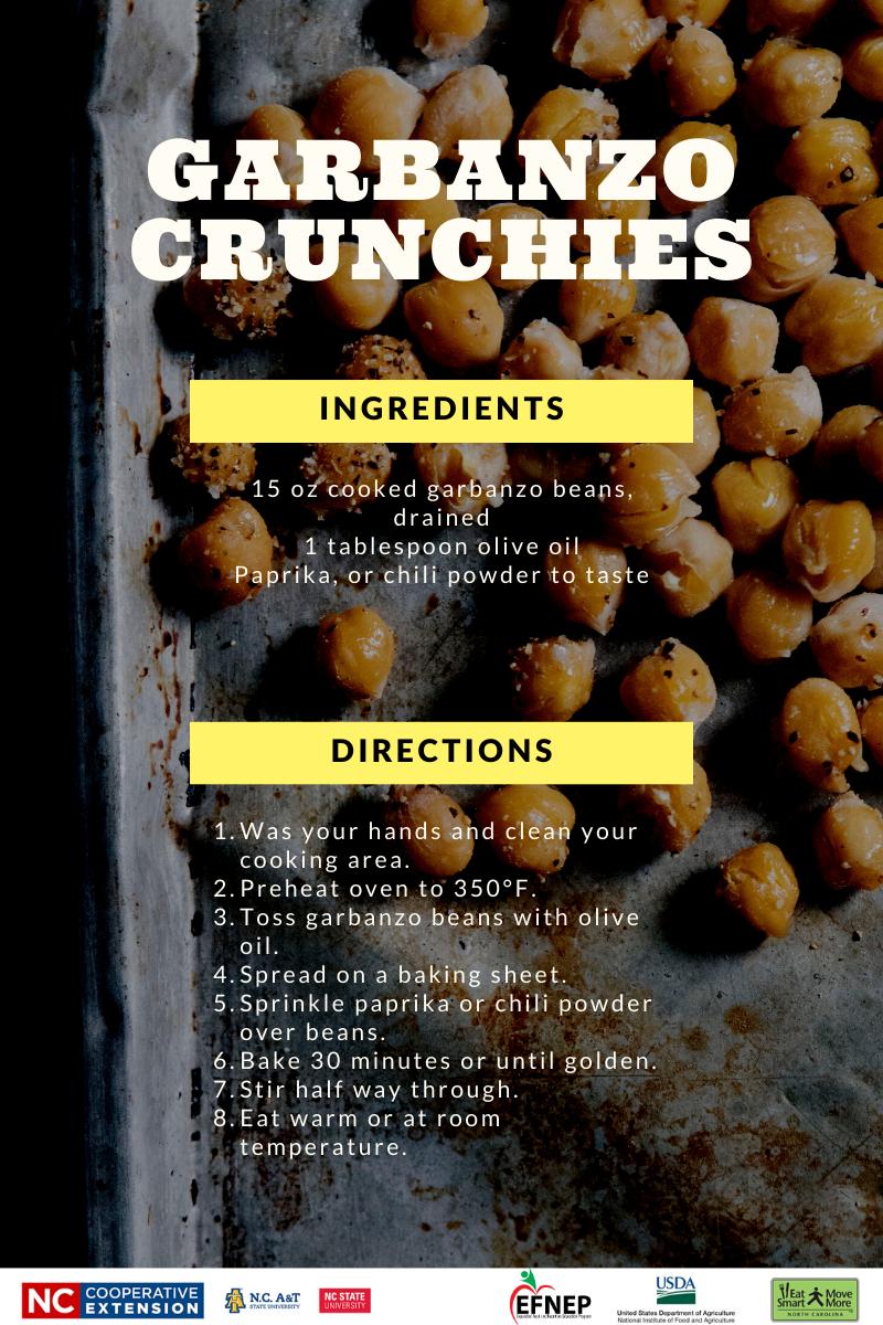 recipe for garbanzo crunchies