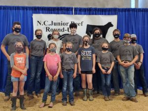 Youth at NC Junior Beef Roundup