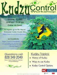 Kudzu Workshop 2020