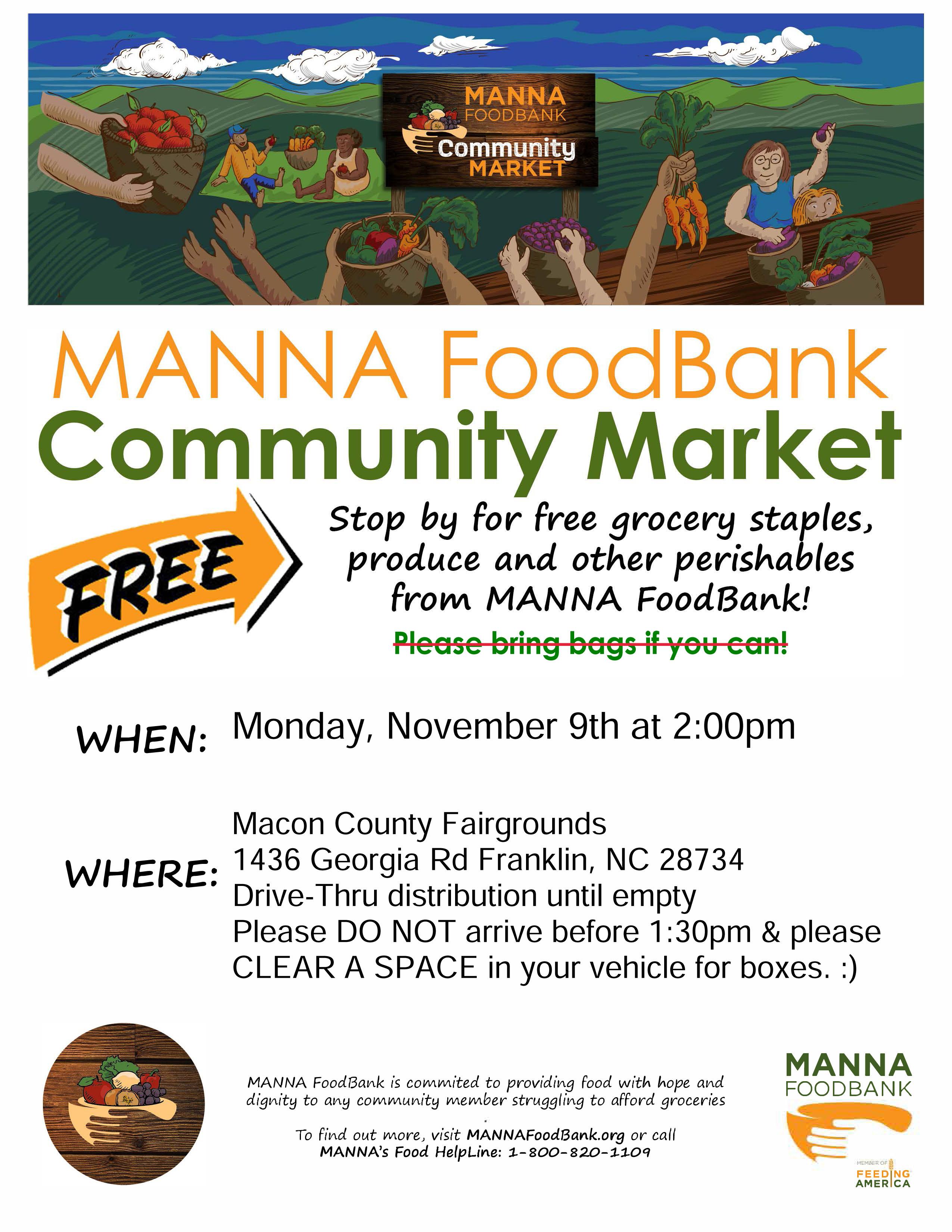 MANNA FoodBank Flyer