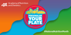 National Nutritional Month Logo