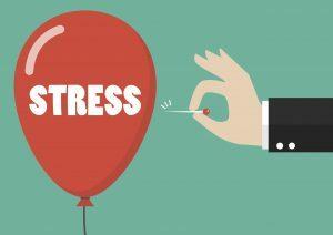 Stress balloon