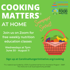 Cover photo for Cooking Matters at Home